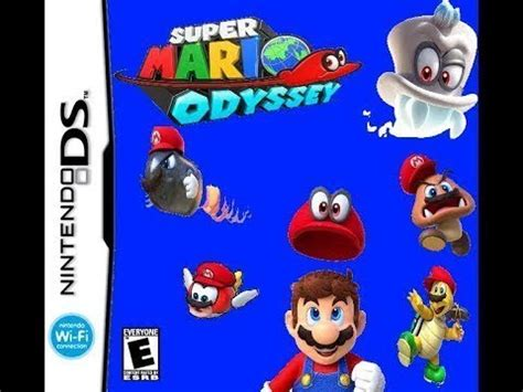 newer super mario odyssey ds mod para android 2018 (mega