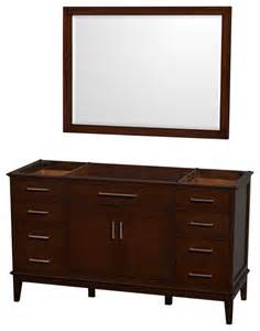 bathroom vanities no sink hatton 60 quot chestnut single bathroom vanity no