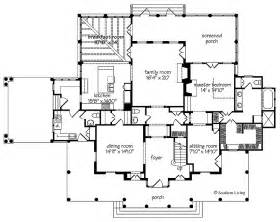 Southern Plantation Floor Plans Newberry Park From The Southern Living Hwbdo55470