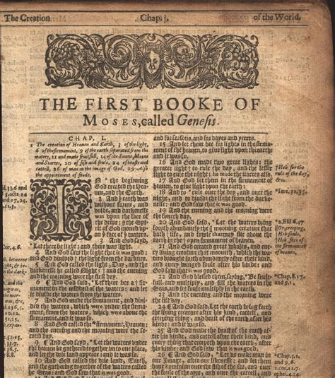 genesis chapter 1 4 file genesis chapter one from a 1620 21 king bible