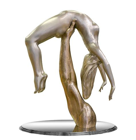 can sculpture would you catch me if i fall lorenzo quinn
