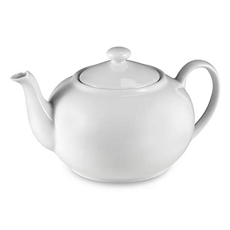 bed bath and beyond teapot buy everyday white 174 by fitz and floyd 174 teapot from bed