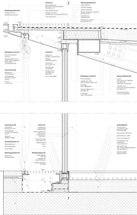 pavillon zeichnen construction details on facades zaha hadid
