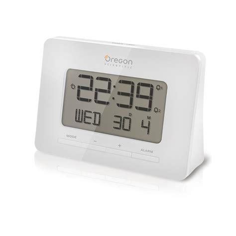 oregon scientific store oregon scientific rm938 wh atomic digital alarm clock with dual alarm