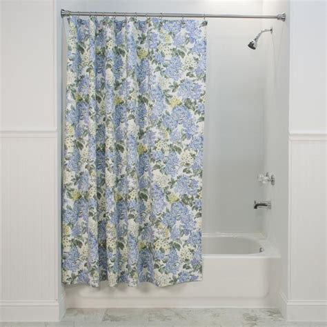 shower curtains floral print hydrangea floral print fabric shower curtain window toppers