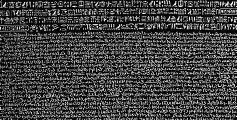 rosetta stone translation unlocking the meaning of an ancient hieroglyphic script