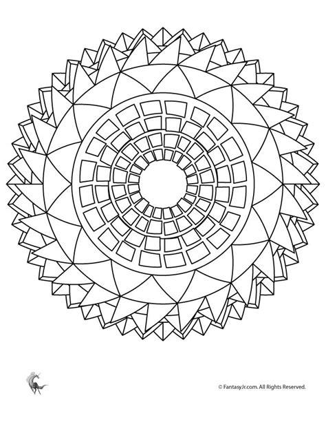 summer mandala coloring pages sunflower mandala coloring page woo jr kids activities