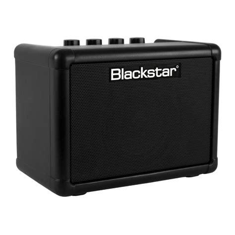 blackstar fly 3 mini battery powered 3 watt amplifier ebay
