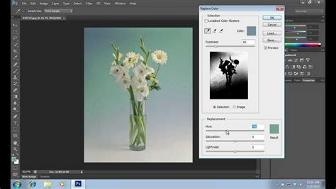 how to use color replacement tool in photoshop cs6