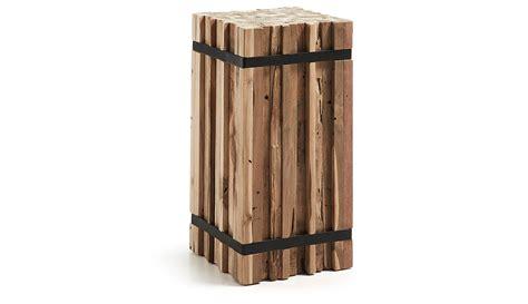 muebles en madera natural columna decorativa madera natural irma en portobellostreet es