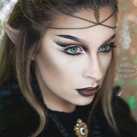Tutorial Makeup Elf | fantasy elf makeup tutorial mugeek vidalondon