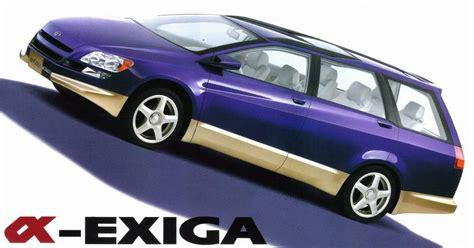 subaru exiga concept subaru alpha exiga 1995 old concept cars