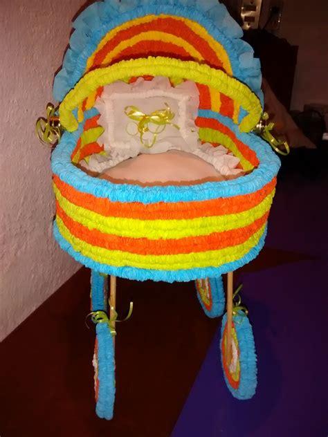 centros de mesa carreolas crepe para baby shower 95 00 en mercado libre