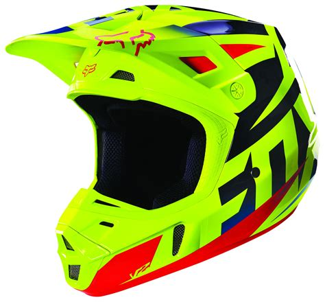 fox helmets fox racing v2 race helmet revzilla