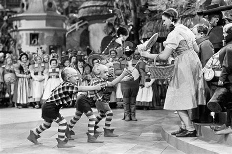 Set Lolipop Kid judy garland was repeatedly molested by munchkins on set of wizard of oz