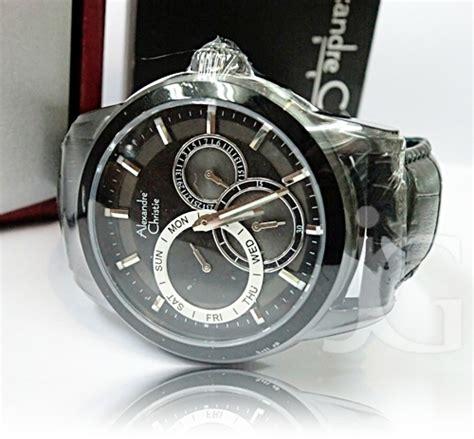 Alexandre Christie Ac8424 Silver Black Cewek Original jamtangan murah jual jam tangan