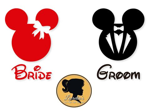 Monogram Ideas by Bride And Groom Svg Mickey Mouse Minnie Mouse Svg Files