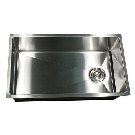 large single bowl kitchen sink sr3218 osd 32 inch pro series large rectangle single