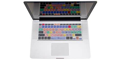 adobe premiere pro on macbook air logicskin adobe premiere pro cc apple mac book keyboard cover