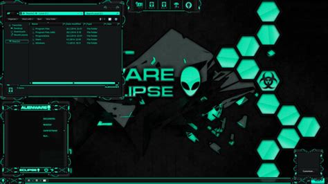 eclipse themes windows 8 alienware eclipse biohazard edition by lamiadc on