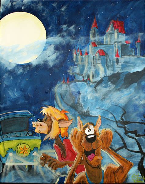 painting scooby doo scooby doo howl of the reluctant by scoobykeys