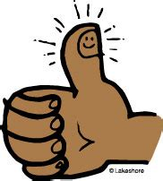 thumbs up for thumbs out books up the work clip clipart panda free clipart
