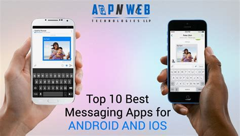 best messaging apps for android web design mobile app development company in india