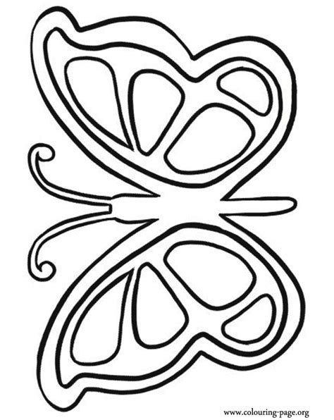coloring page for butterfly butterfly coloring pages kids coloring home