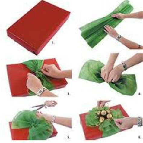 How To Make Bows With Tissue Paper - tissue paper bow on gift ideas