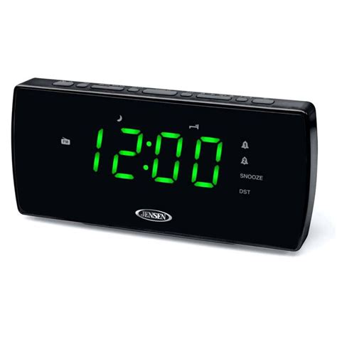 Rugs Sears Jensen Dual Alarm Clock Radio With Auto Time Set Jcr 230