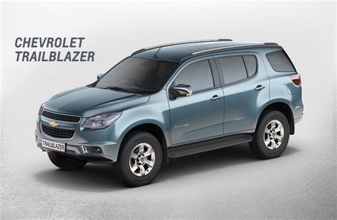 Chevrolet Trailblazer Spin India Launch Confirmed
