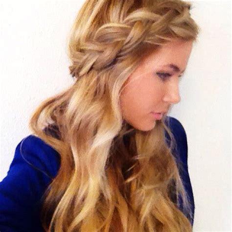 hairstyles down with plaits classic braid down hair google search braidz