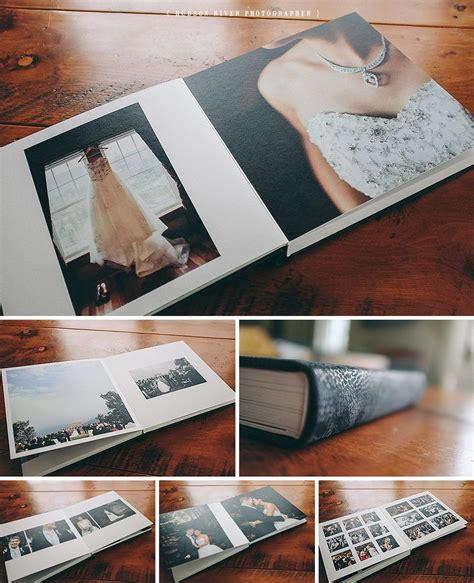 Queensberry Wedding Album Design by Queensberry Wedding Album Rhinebeck Wedding Photographer