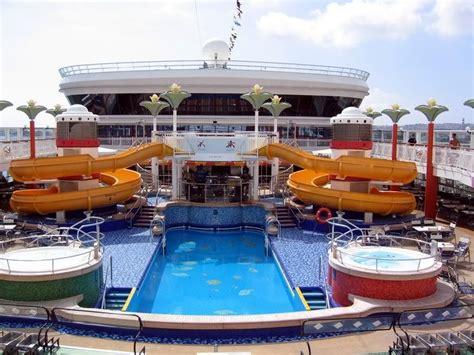 carnival pride cruise ship food carnival pride pool area
