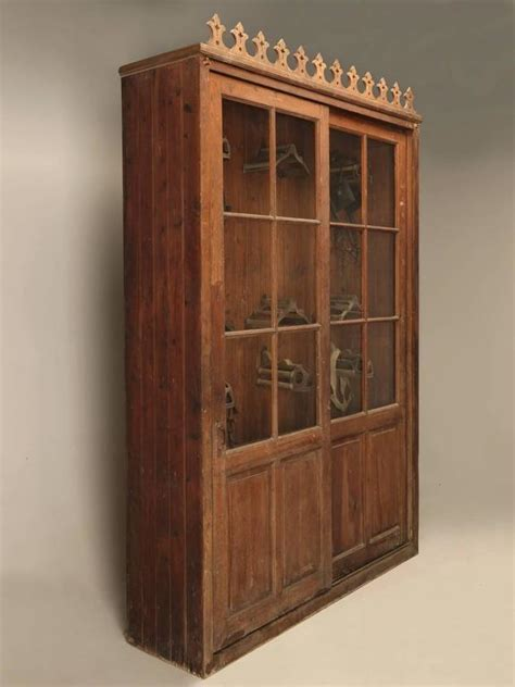 tack armoire french tack cabinet or potential bookcase for sale at 1stdibs