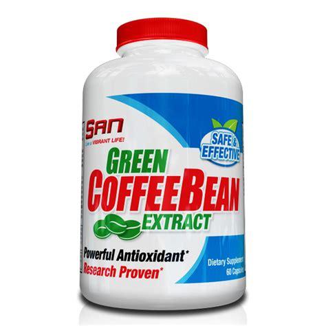 Green Coffee Bean 60 Cap san green coffee bean extract 60 caps