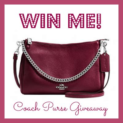 Purse Giveaway 2016 - coach crossbody leather purse giveaway imperfect women
