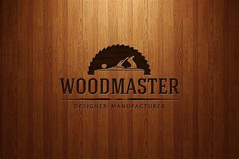 woodworking lumber supply wood master logo on behance