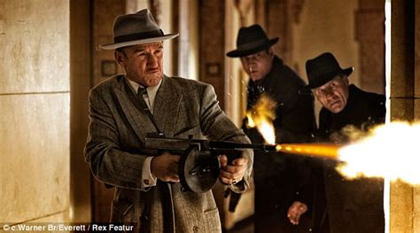 film gangster recent sean penn takes the mickey in butchering of a mobster s