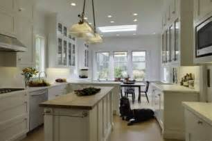 narrow island kitchen ideas pinterest