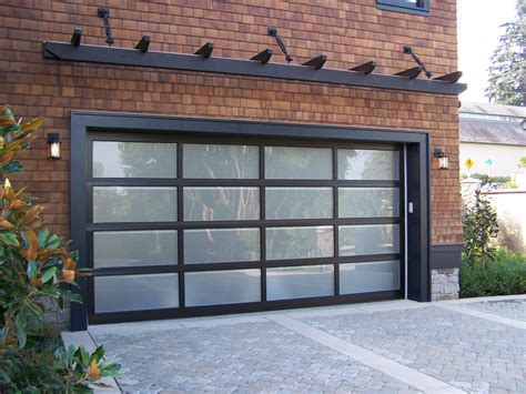 Aluminum Glass Garage Doors Garage Door Photo Gallery Vander Griend Lumber Garage Doors Lynden Wa
