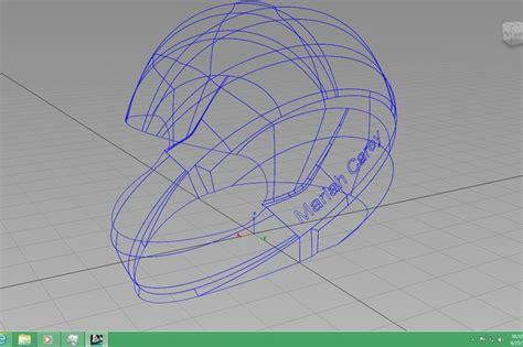 helmet design catia helmet
