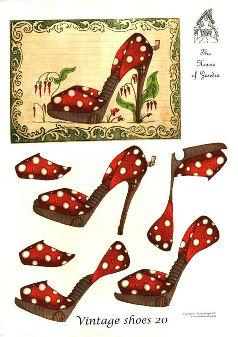 Decoupage Shoes With Paper - 667 best images about everyday 3d decoupage sheets