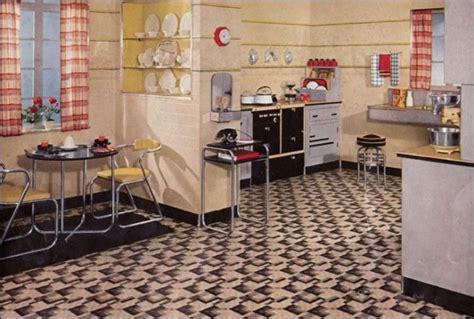 Kitchen Floor Tiles Vintage Retro Kitchen Design Sets And Ideas