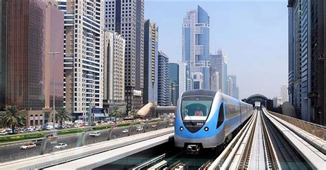 part   dubai metro red    suspended