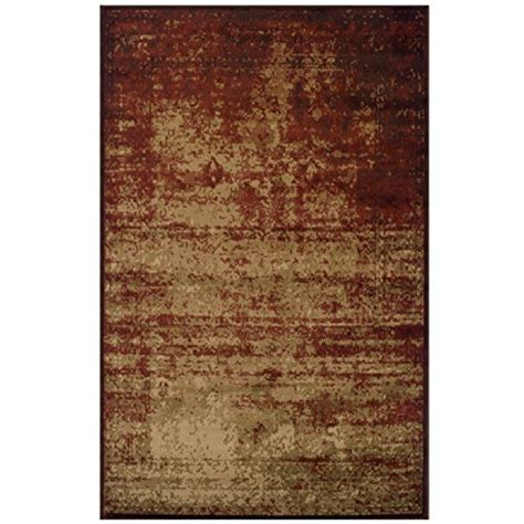 Rug Pile Height Guide by Superior Modern Afton Acid Wash Collection Area Rug 10mm Pile Height With Jute Backing Vintage