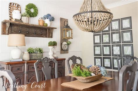 farmhouse dining room makeover reveal