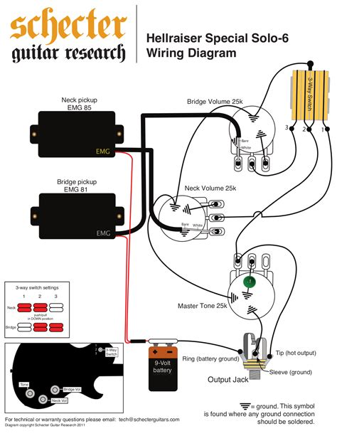 emg 81 85 wiring diagram les paul emg 81 wiring and white
