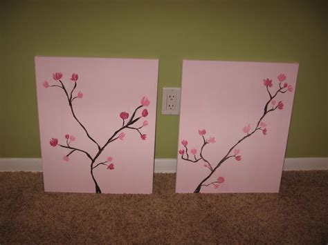 Diy Cherry Blossom Wall