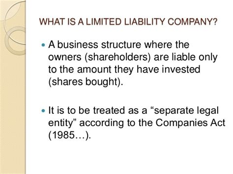 what co limited liability companies introduction